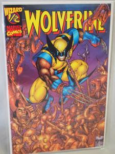 Wolverine 1/2 Wizard Magazine issue in  VF/NM condition. Unread . 1997
