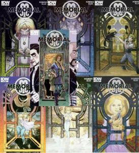 MEMORIAL (2011 IDW) 1A,1B,2A-6A  KALUTA  complete set!