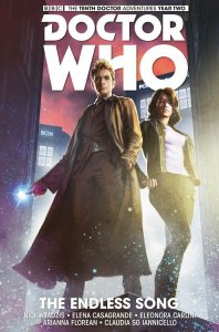 Doctor Who: The Tenth Doctor Year Two HC #1 VF/NM; Titan | save on shipping
