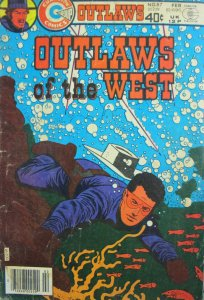 Outlaws of the West #87 Charlton Comic Bronze Age 1980 VG/GD Western
