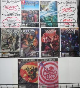 OCCUPY AVENGERS (2016 MARVEL) #1-4,6-9 VF-NM! WALKER! PACHECO! HAWKEYE