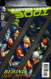 Justice League 3001 #9 VF/NM; DC | save on shipping - details inside