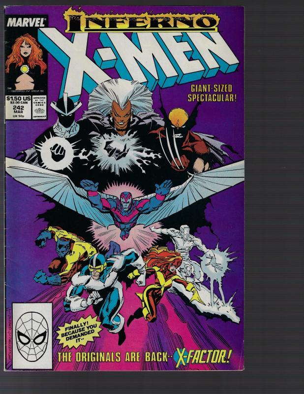 Uncanny X-Men #242 (Marvel, 1989)