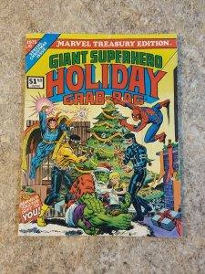 Marvel Comic Treasury Edition #8 VF Superhero Holiday Grab-Bag Christmas Gift