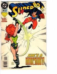 7 Superboy DC Comic Books # 2 3 4 5 6 7 8 Arrow Flash Superman Batman Atom J214
