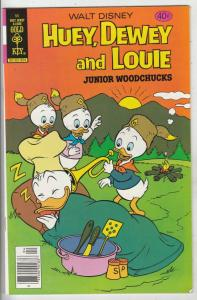 Huey Dewey and Louie Junior Woodchuks #55 (Apr-79) NM- High-Grade Huey Dewey ...