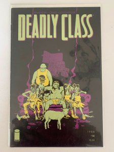 Deadly Class #10 1988 Image Comics VF