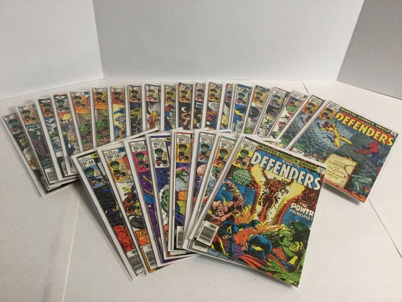 Defenders 1-140 Of 152 Marvel Feature 1 King-Size 1 Giant-Size 3 4 A36