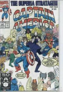 Captain America (1968 series) #390, NM- (Stock photo)