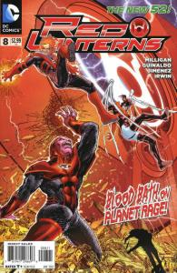Red Lanterns #8 VF/NM; DC | save on shipping - details inside