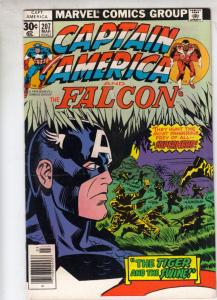 Captain America #207 (Mar-77) FN Mid-High-Grade Captain America