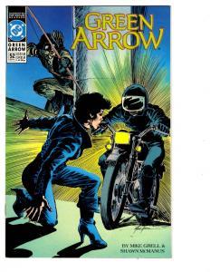 9 Green Arrow DC Comic Books # 52 53 55 56 57 58 60 61 62 Black Canary BH27