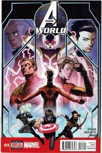 Avengers World #14 Captain Marvel Hulk NM