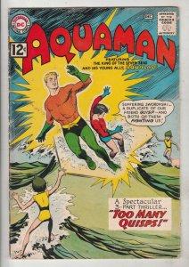 Aquaman #6 (Nov-62) VG/FN+ Mid-Grade Aquaman, Aqualad