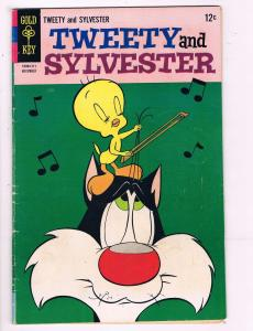 Tweety & Sylvester #8 VF Gold Key Comic Book 1963 DE7