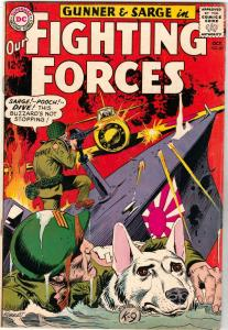 Our Fighting Forces #87 (Oct-64) FN/VF Mid-High-Grade Gunner and Sarge, Pooch