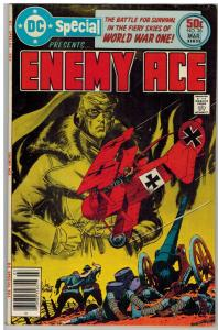 DC SPECIAL 26 FN Mar. 1977 Enemy Ace