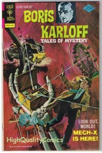 BORIS KARLOFF #66, VG+, Tales of Mystery, Gold Key, 1963, more Horror in store
