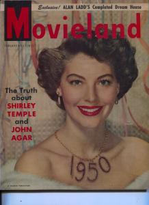 Movieland-Ava Gardner-Zachary Scott-Mickey Rooney-Ava Gardner-Jan-1950