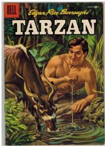 TARZAN 78 VG March 1956