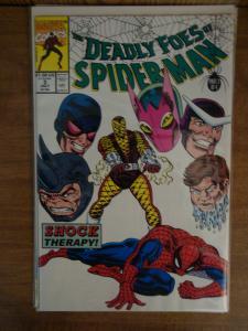 Marvel Comics Complete Set of Deadly Foes of Spider-Man #1-4