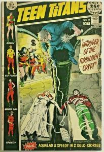 TEEN TITANS#35 VG 1971 DC BRONZE AGE COMICS