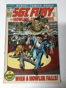 Sgt Fury 100 Fn+ Fine+ 6.5 Marvel
