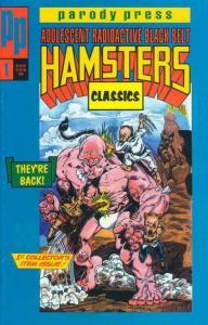 Adolescent Radioactive Black Belt Hamsters Classics #1 FN; Parody   save on ship