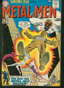 SHOWCASE #40 DC METAL MEN RADIOACTIVE COVER 1962 VG