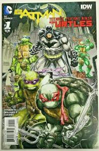 BATMAN & TEENAGE MUTANT NINJA TURTLES#1 NM 2016 FIRST PRINT DC/IDW COMICS