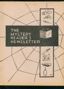 MYSTERY READER'S NEWSLETTER-APRIL 1970-ALFRED HITCHCOCK VG/FN