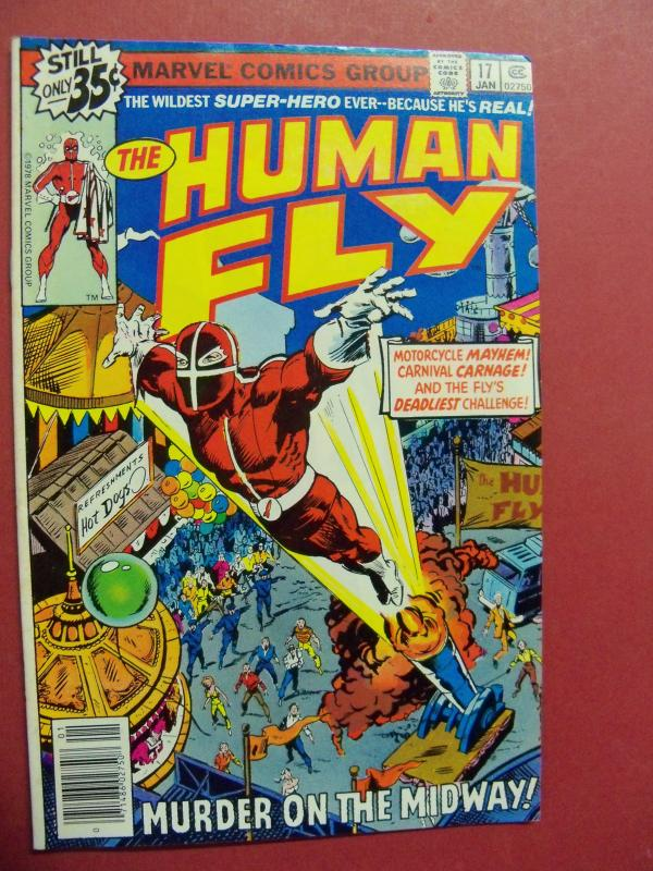 THE HUMAN FLY #17 (FINE/VF 7.0 or better) MARVEL COMICS 1978