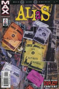 Alias (Marvel) #7 VF/NM; Marvel | save on shipping - details inside
