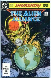 Invasion #1 1988- Alien Alliance - Todd McFarlane VF