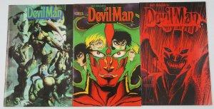 Go Nagai's DevilMan #1-3 VF/NM complete series - simon bisley - verotik comics 2