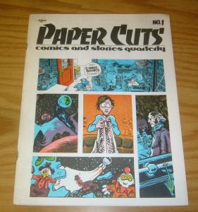 Paper Cuts Comics and Stories Quarterly #1 FN tom stazer - doug potter - metzger
