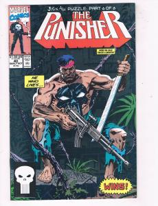 The Punisher #40 NM Marvel Comics Netflix Comic Book Daredevil Oct 1990 DE44