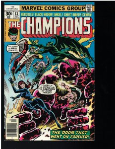 Champions #13 (Marvel, 1977) NM