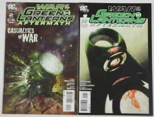 War of the Green Lanterns: Aftermath #1-2 FN+ complete series - tyler kirkham