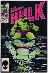 Incredible Hulk   vol. 1   #297 VG/FN Mantlo/Sal Buscema, Sienkiewicz cover