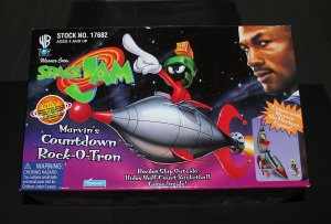Space Jam Marvin the Martian Rocket Ship Mint in Box 1996