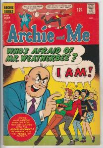 Archie and Me #13 (Feb-67) FN/VF Mid-High-Grade Archie