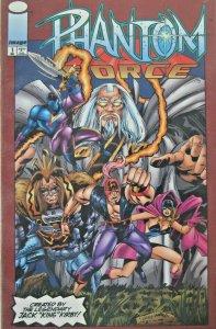 Phantom Force #1 1993 Image Modern Age Comic VF+