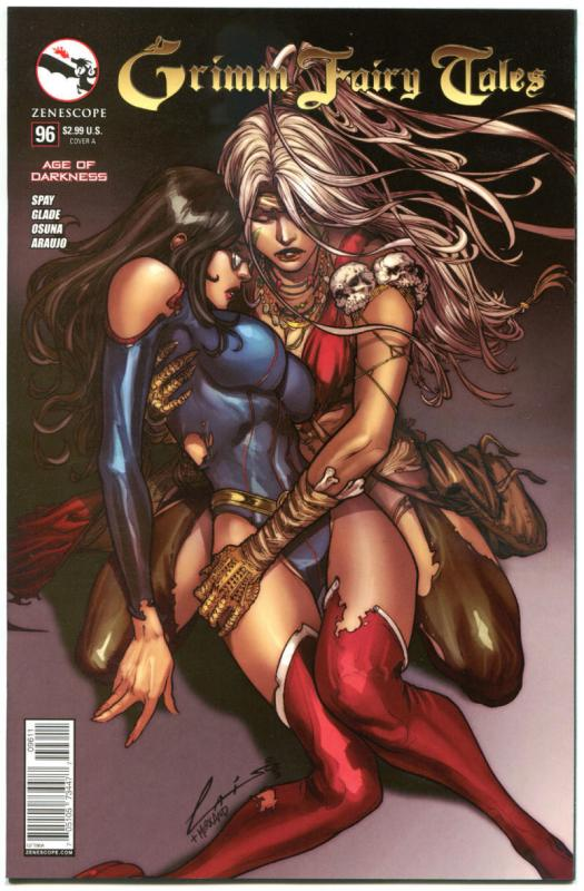 GRIMM FAIRY TALES #96 A, NM, 2005, 1st, Good girl, Rapunzel, more GFT in store