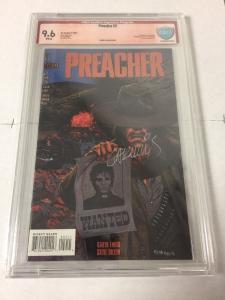 Preacher 2 Cbcs 9.6 Verified Signature (like Cgc) By Garth Ennis