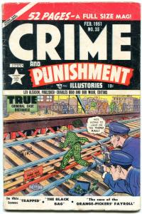 Crime And Punishment #35 1951- Golden Age comic- EGYPTIAN COLLECTION vg