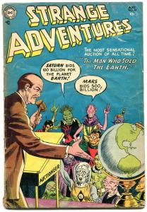 Strange Adventures #47 1954-ALIENS COVER-DC comics VG