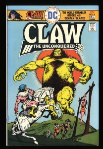 Claw the Unconquered #4 NM- 9.2