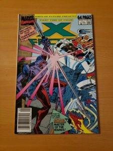 X-Factor Annual #5 Newsstand Edition ~ NEAR MINT NM ~ (1990, Marvel Comics)