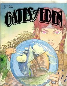 Gates Of Eden # 1 Kaluta Cover Art 1982 Fantagraphics Magazine Book JL20